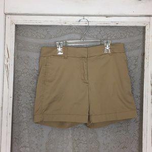 J Crew Kaki Chino Skirts Size 2